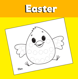 Chick Dot Activity Worksheet