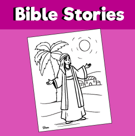 Deborah the Prophetess Coloring Page