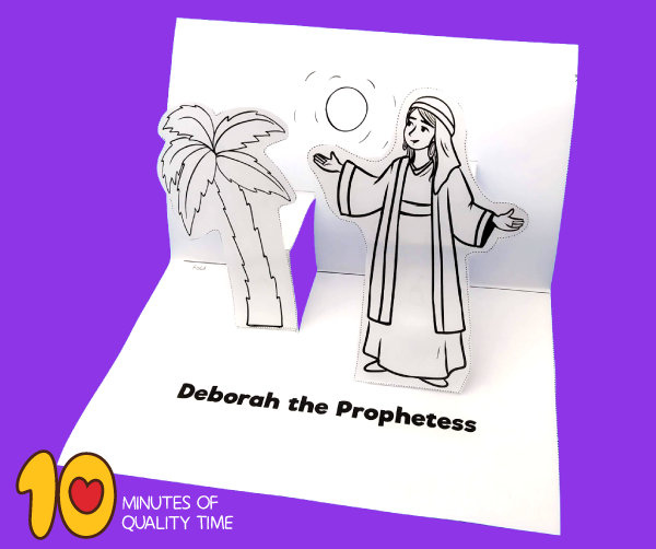 Deborah The Prophetess Craft 10 Minutes Of Quality Time