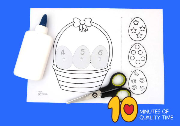 easter worksheets for kindergarten