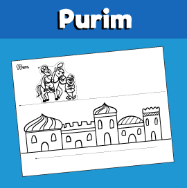 Purim Craft - Mordechai and Haman