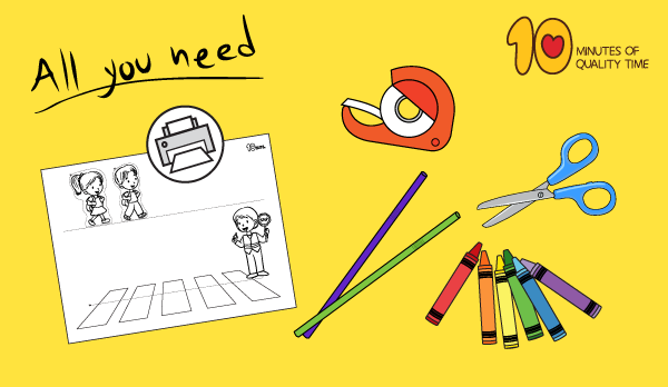road safety crafts for preschoolers