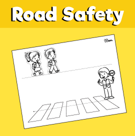 Road Safety Craft - Use Crosswalks