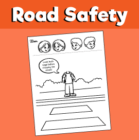 Street Safety Craft Crossing the Street