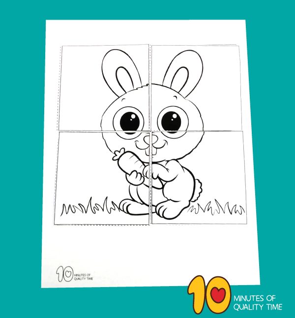 easter puzzle for toddler