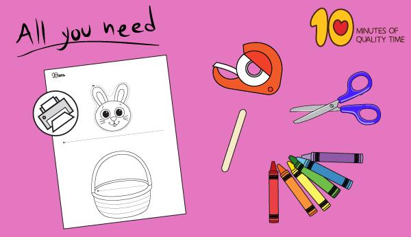 easter basket crafts for preschoolers