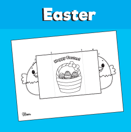 Easter Chick Folding Card