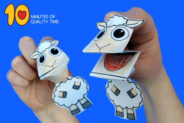 lamb puppets