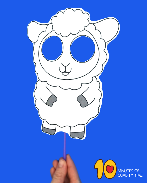 easter sheep craft