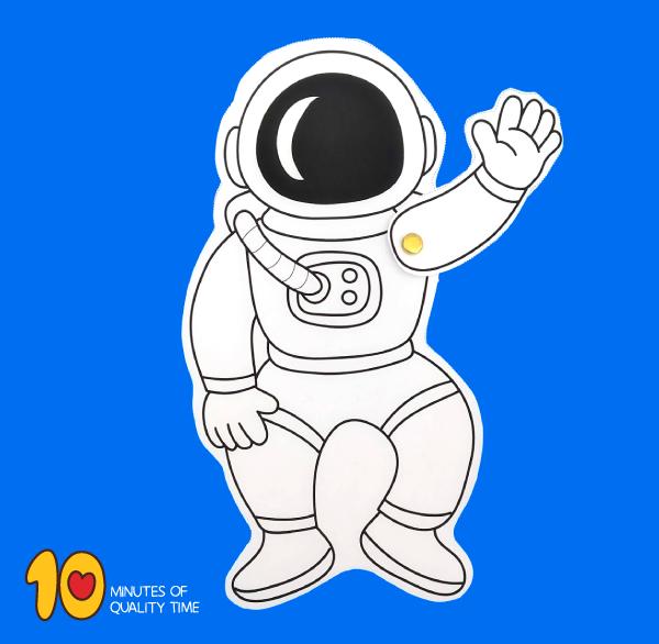 printable astronaut craft