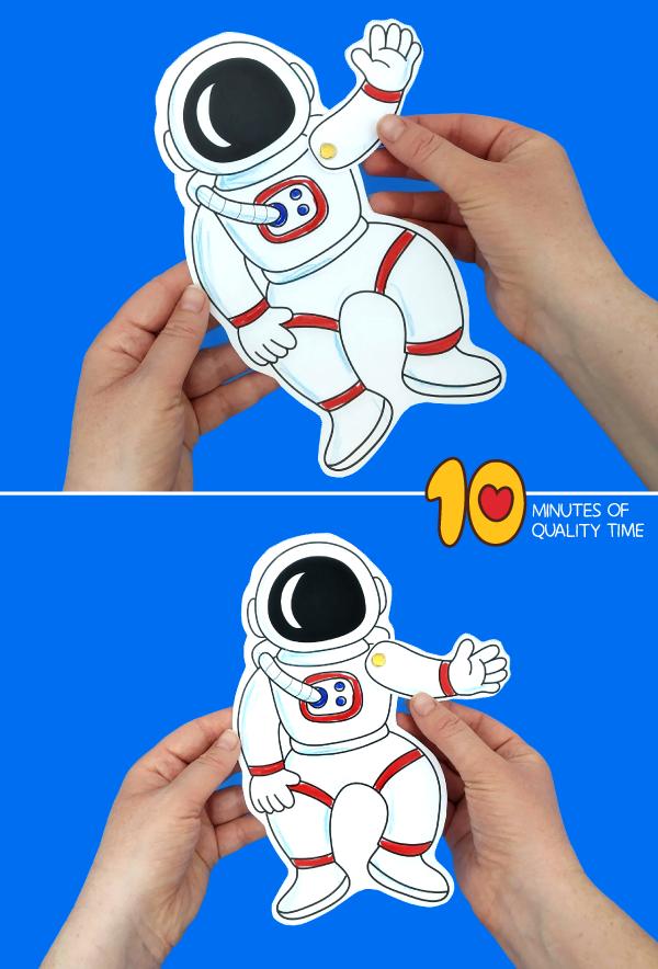 astronaut craft for preschool