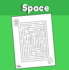 Astronaut Maze