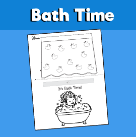 Bath Time Craft
