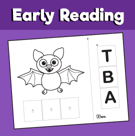Early Reading Game - Bat