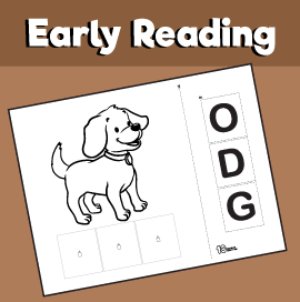 Early Reading Game - Dog