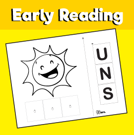 Early Reading Game - Sun