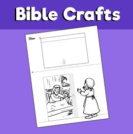 Elisha and Shunammite Woman Craft