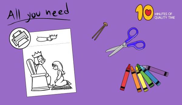 queen esther craft ideas
