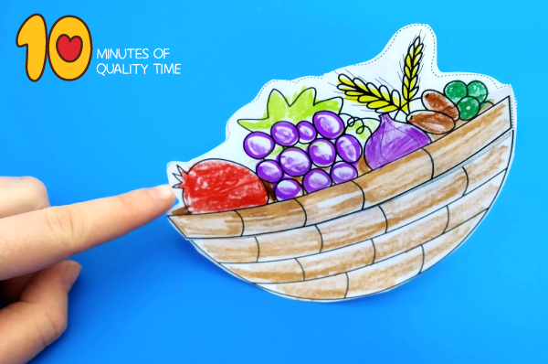 fruit basket craft preschool