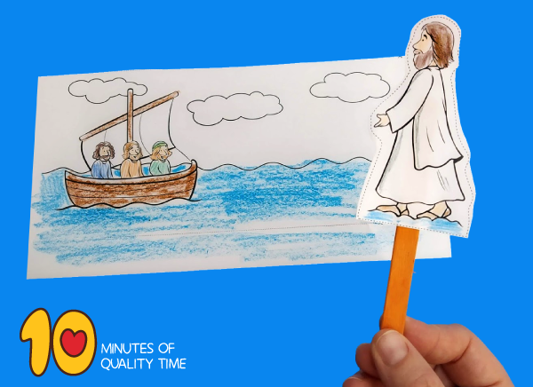 Jesus Walks On Water Craft 10 Minutes Of Quality Time