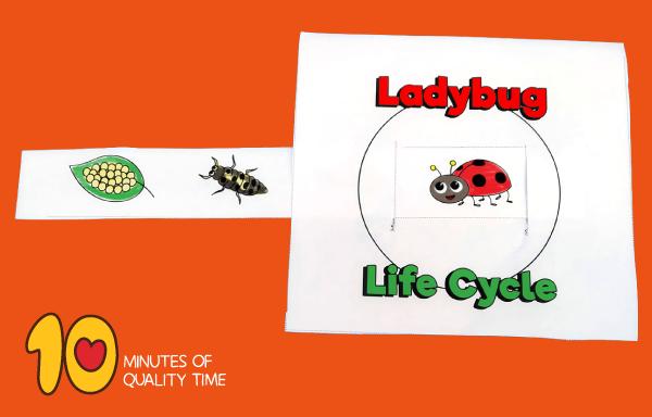 ladybug craft template