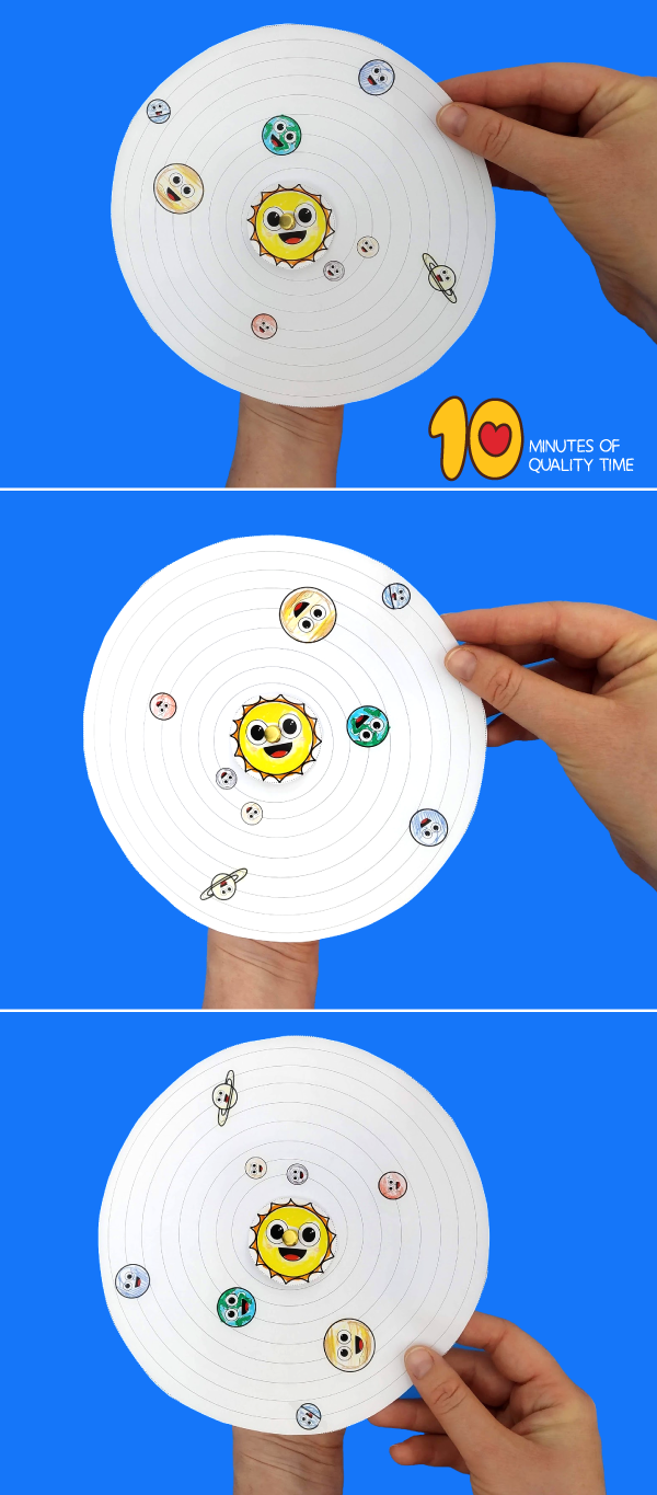 solar system craft for preschoolers