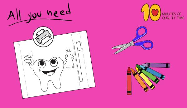 brushing teeth craft