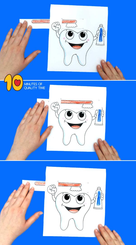 brushing teeth preschool activities