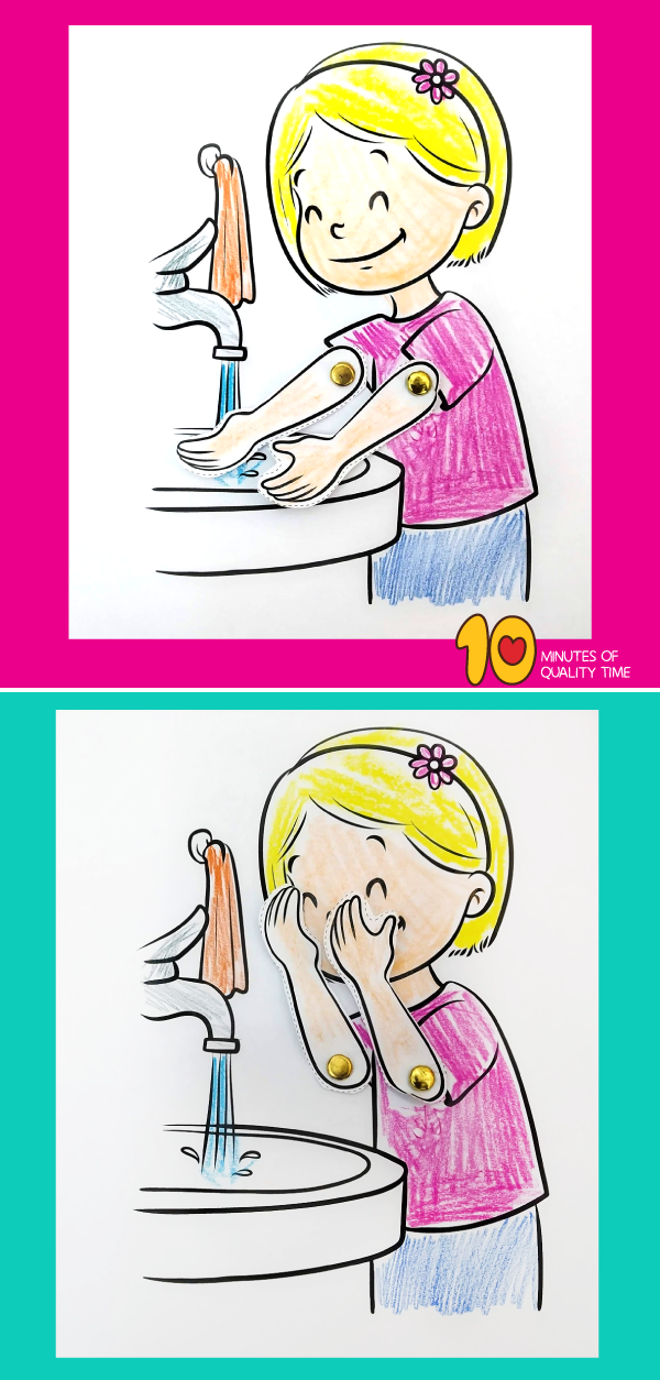 hygiene activity for kindergarten