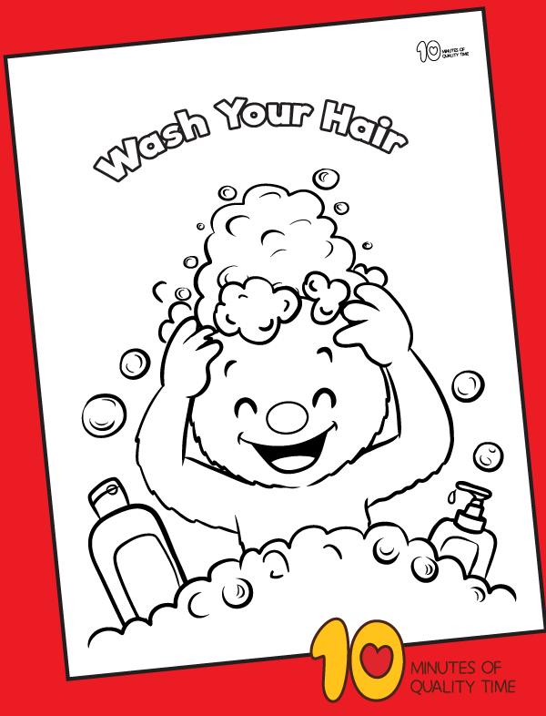 hygiene crafts for kindergarten