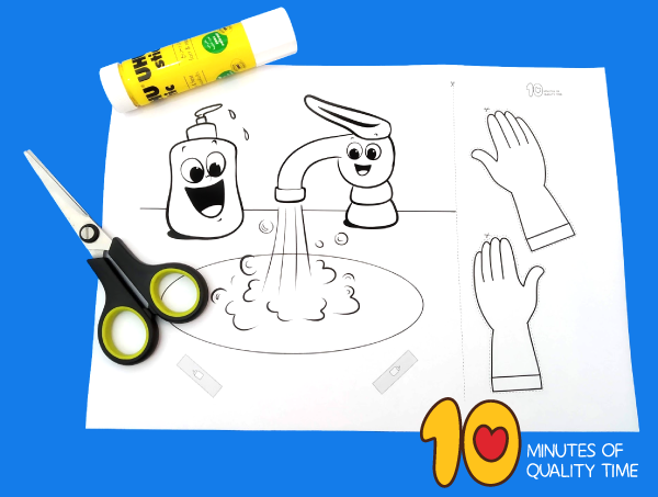 Washing Hands Craft 10 Minutes Of Quality Time