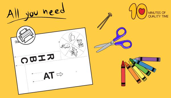 at word family worksheets for kindergarten