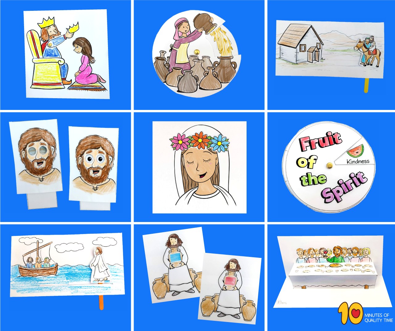 Bible crafts for kids