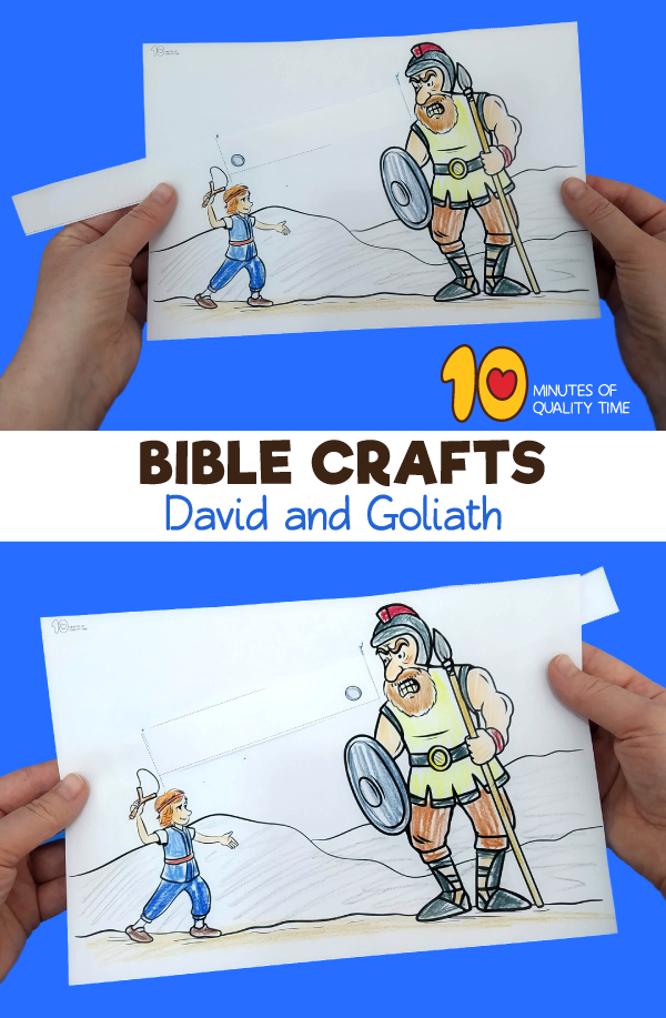 david and goliath crafts for preschool