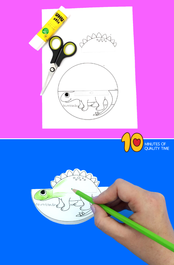 dinosaur craft preschool