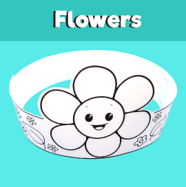 Flower Paper Crown