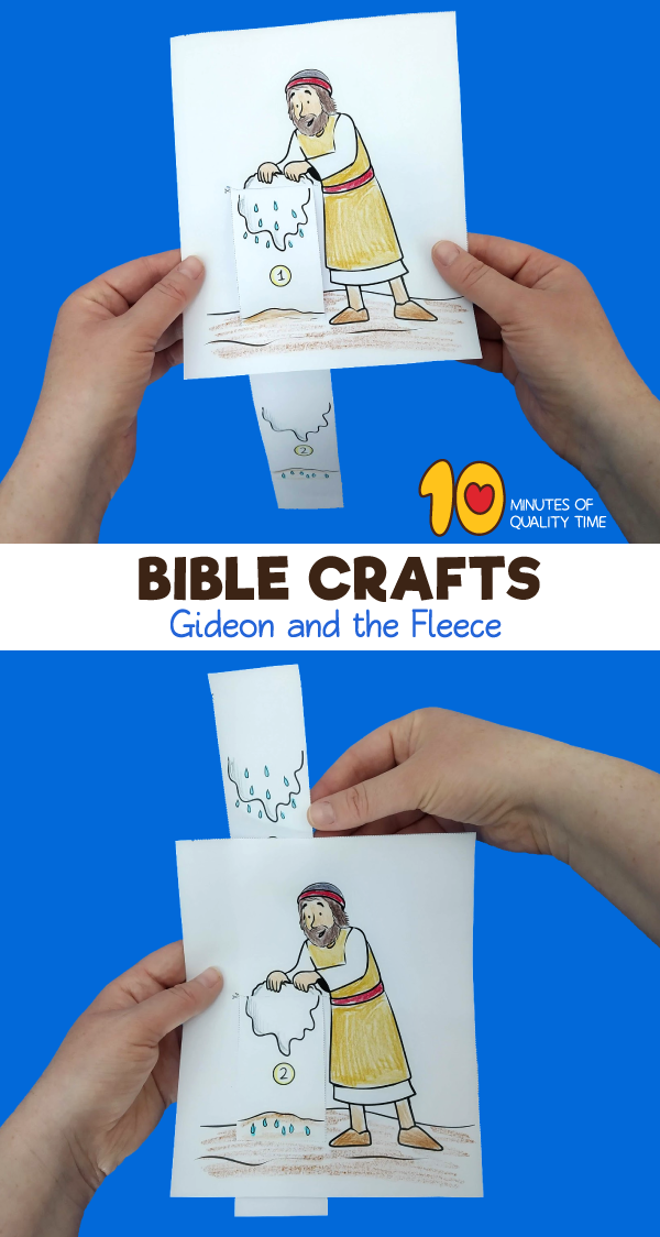 gideon sunday school craft