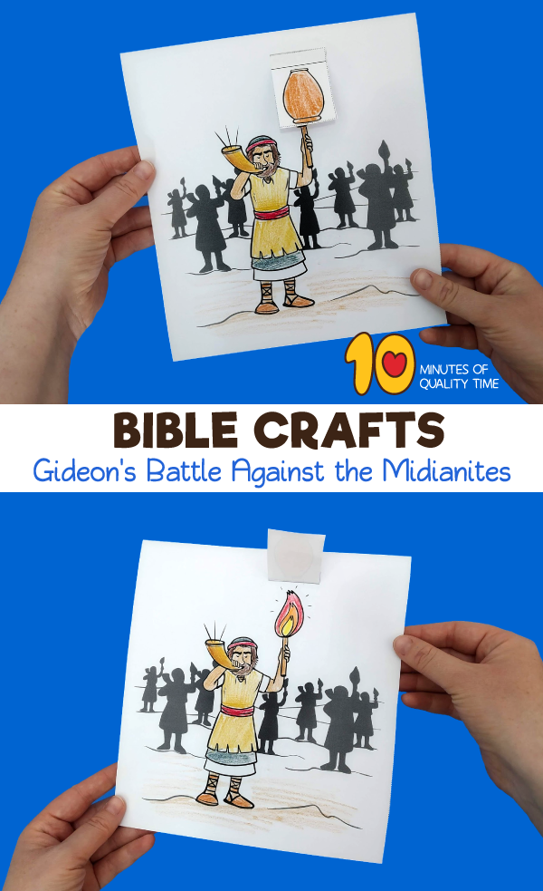 gideon and the midianites craft
