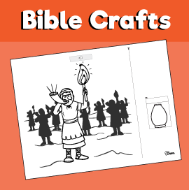 Gideon's Battle Against the Midianites Craft