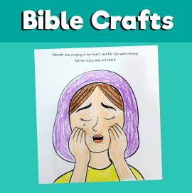 Hannah's Prayer craft
