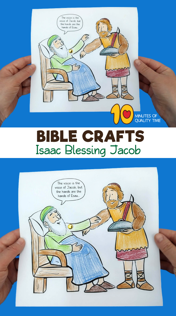 Isaac Blessing Jacob Craft 10 Minutes Of Quality Time