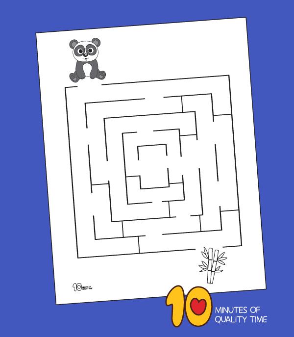 panda worksheets kindergarten