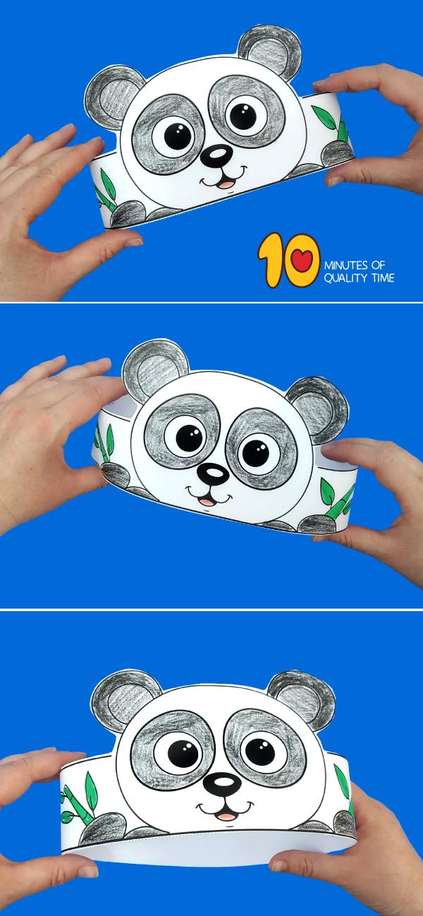 panda bear craft kindergarten
