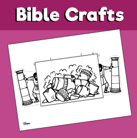 Samson Bible Craft