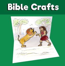 Samson and the Lion Craft