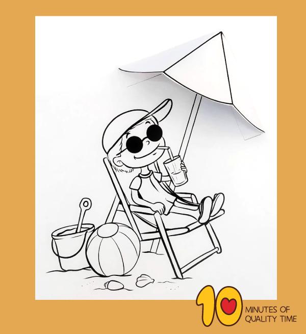 preschool summer safety printables