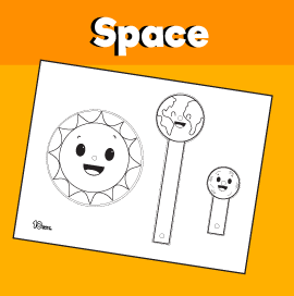 Sun Earth and Moon Craft