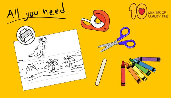 dinosaur craft preschool