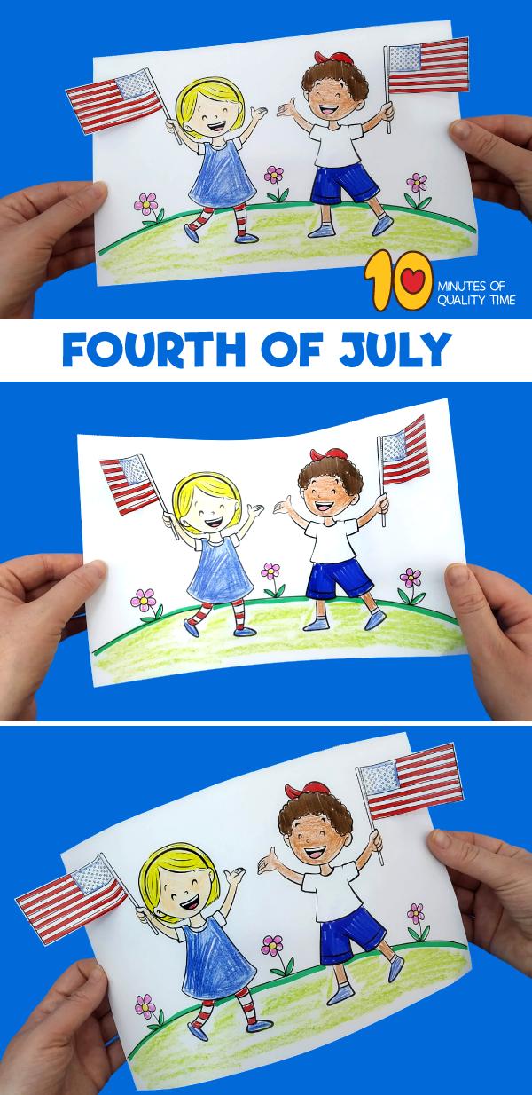 4th of july craft preschool