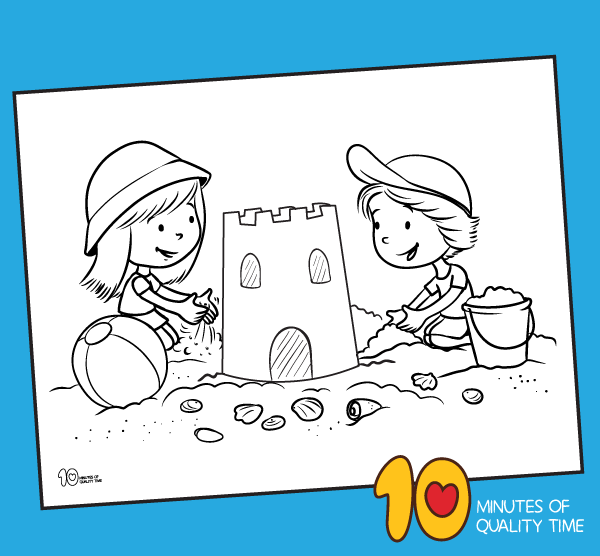 summer coloring pages for first graders